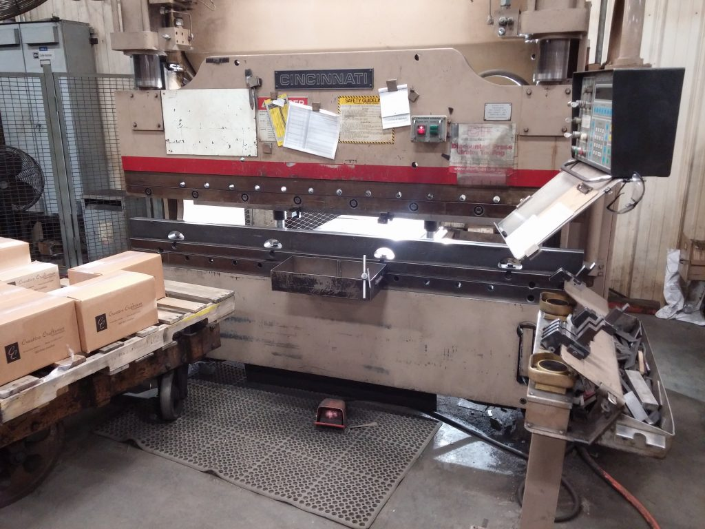 Parts fabrication in Evansville, Indiana